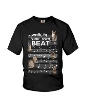 Cat Music Youth T-Shirt thumbnail