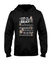 Cat Music Hooded Sweatshirt thumbnail