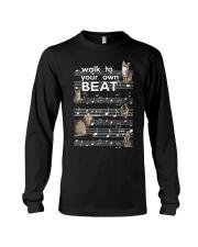 Cat Music Long Sleeve Tee thumbnail