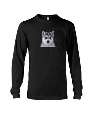 Human Dad Siberian Husky Long Sleeve Tee thumbnail