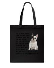 Your Friend French Bulldog Tote Bag thumbnail