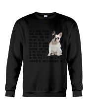 Your Friend French Bulldog Crewneck Sweatshirt thumbnail