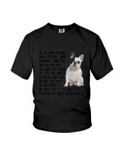 Your Friend French Bulldog Youth T-Shirt thumbnail