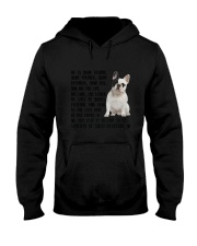 Your Friend French Bulldog Hooded Sweatshirt thumbnail