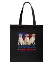 4th July Labrador Retriever Tote Bag thumbnail