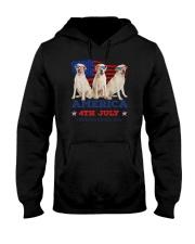 4th July Labrador Retriever Hooded Sweatshirt thumbnail