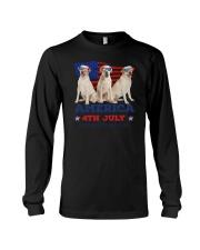 4th July Labrador Retriever Long Sleeve Tee thumbnail