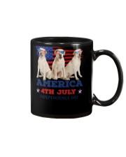 4th July Labrador Retriever Mug thumbnail