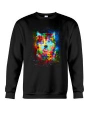 Siberian Husky Autism Crewneck Sweatshirt thumbnail