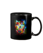 Siberian Husky Autism Mug thumbnail
