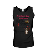 Poem From Basset Hound Unisex Tank tile