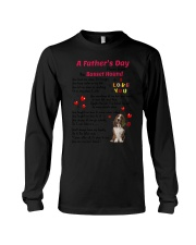 Poem From Basset Hound Long Sleeve Tee thumbnail