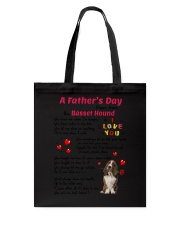 Poem From Basset Hound Tote Bag thumbnail