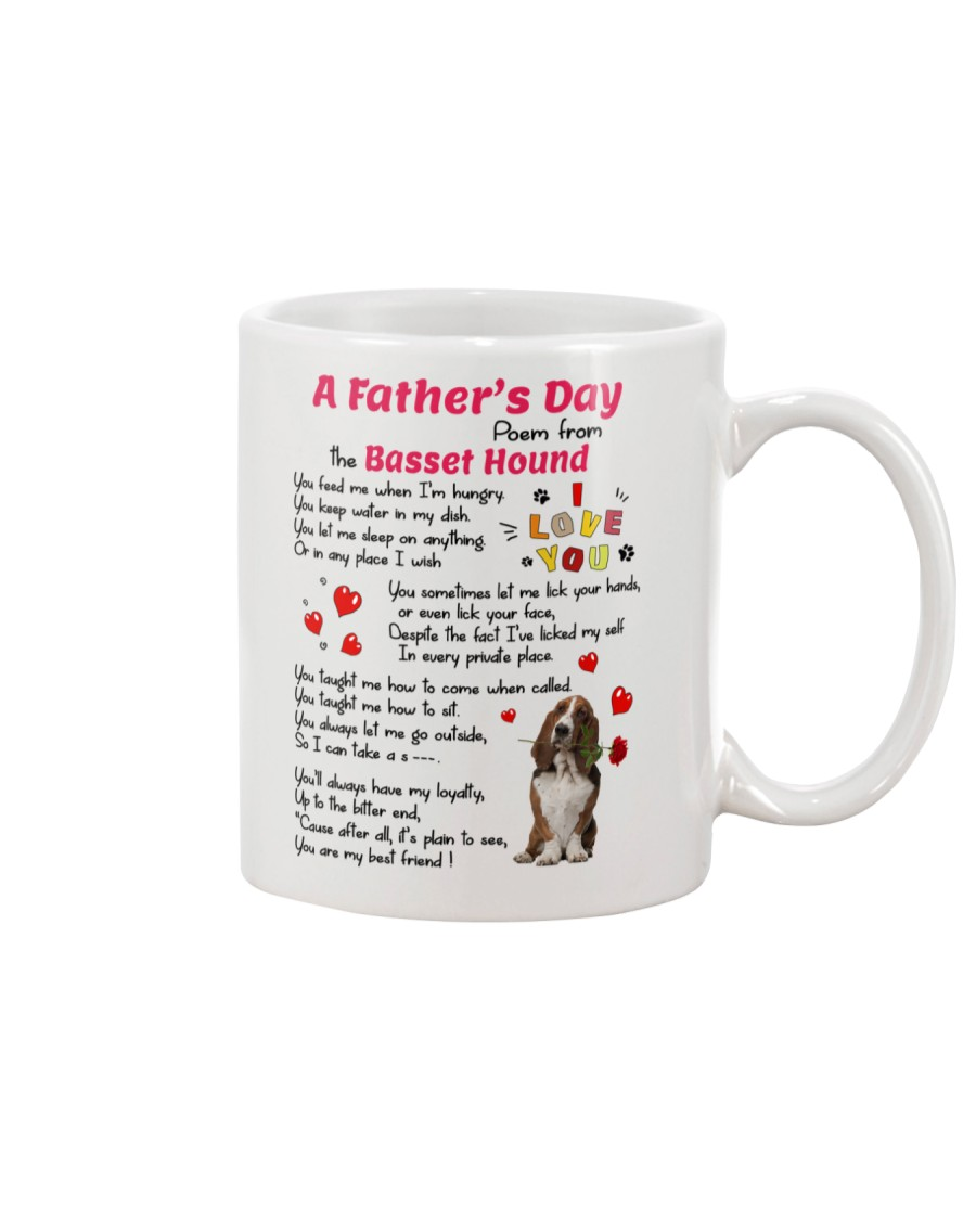 Poem From Basset Hound Mug