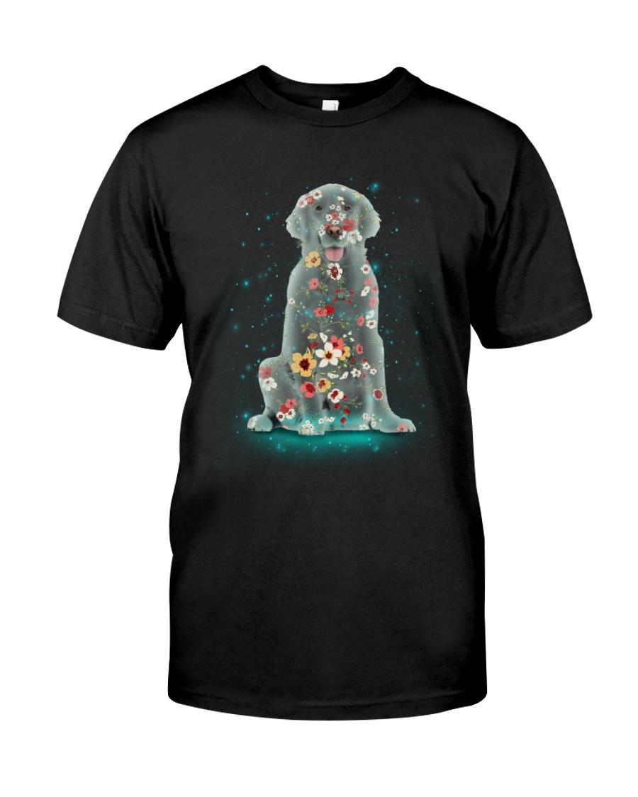 Phoebe - Golden Retriever Flower - 12418 Classic T-Shirt