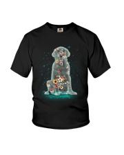 Phoebe - Golden Retriever Flower - 12418 Youth T-Shirt thumbnail