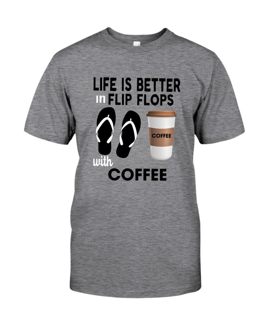 Flip Flops Coffee Classic T-Shirt