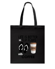 Flip Flops Coffee Tote Bag thumbnail