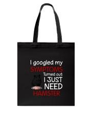 Hamster Symptoms Tote Bag thumbnail