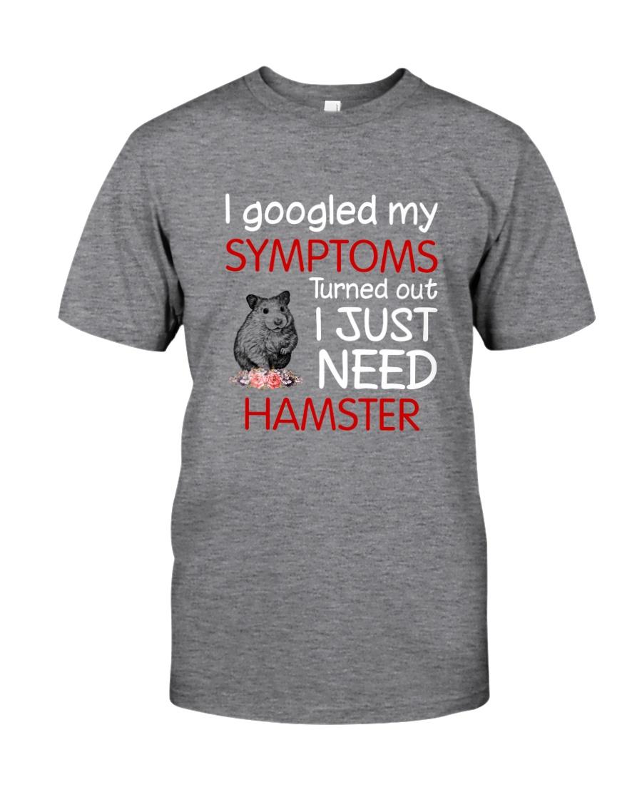 Hamster Symptoms Classic T-Shirt