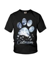 Cat Mom Youth T-Shirt thumbnail