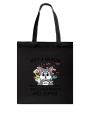 Coffee And Wolves Tote Bag thumbnail