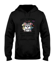 Coffee And Wolves Hooded Sweatshirt thumbnail