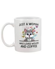 Coffee And Wolves Mug back