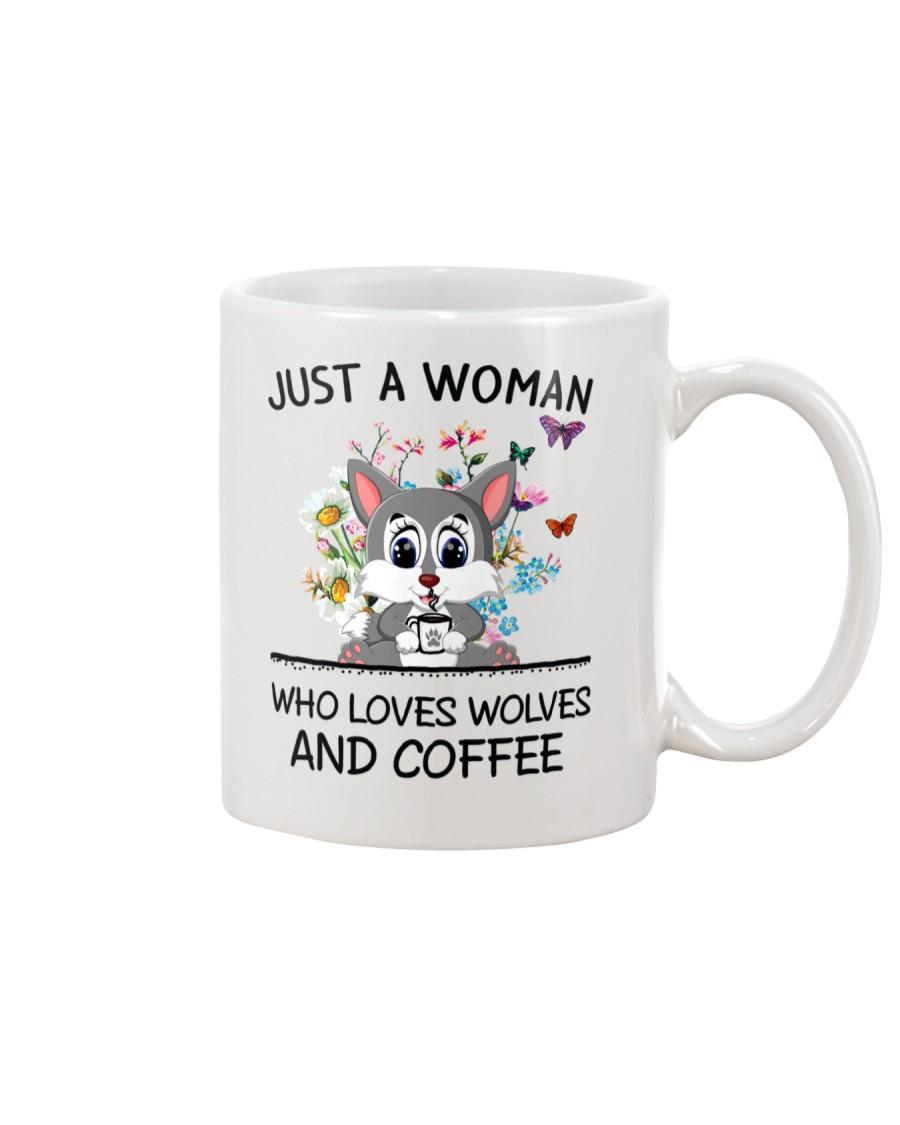 Coffee And Wolves Mug