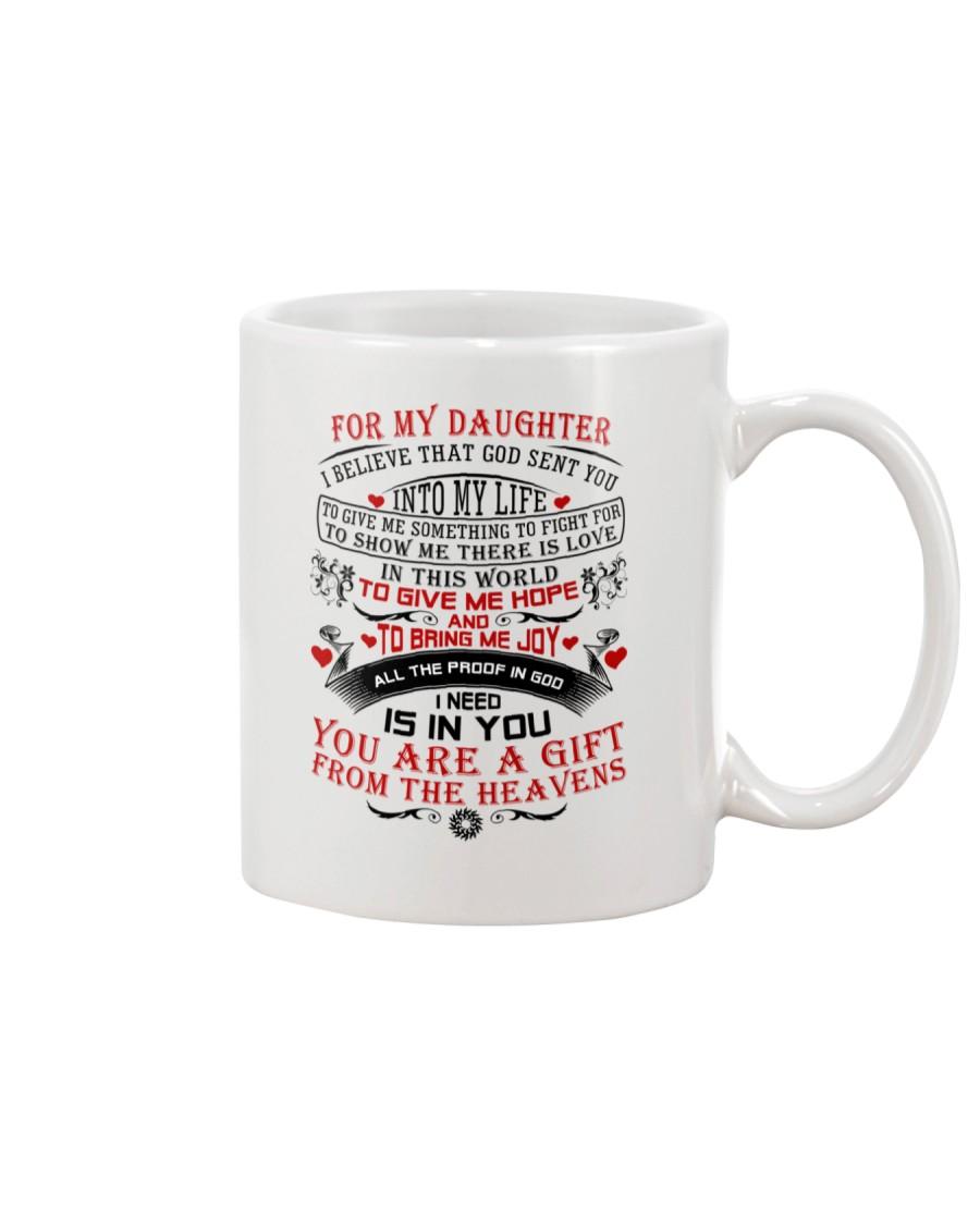 To My Daughter Mug