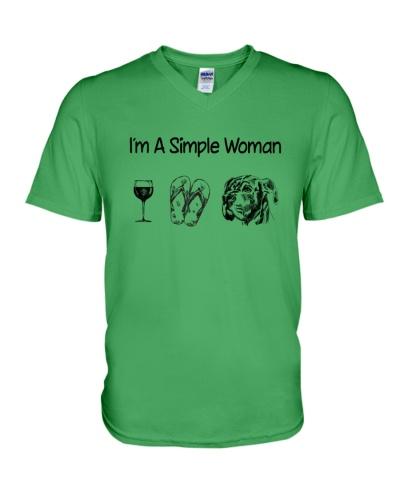 Great Dane Simple Woman