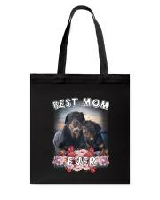 Rottweiler Best Mom Tote Bag thumbnail