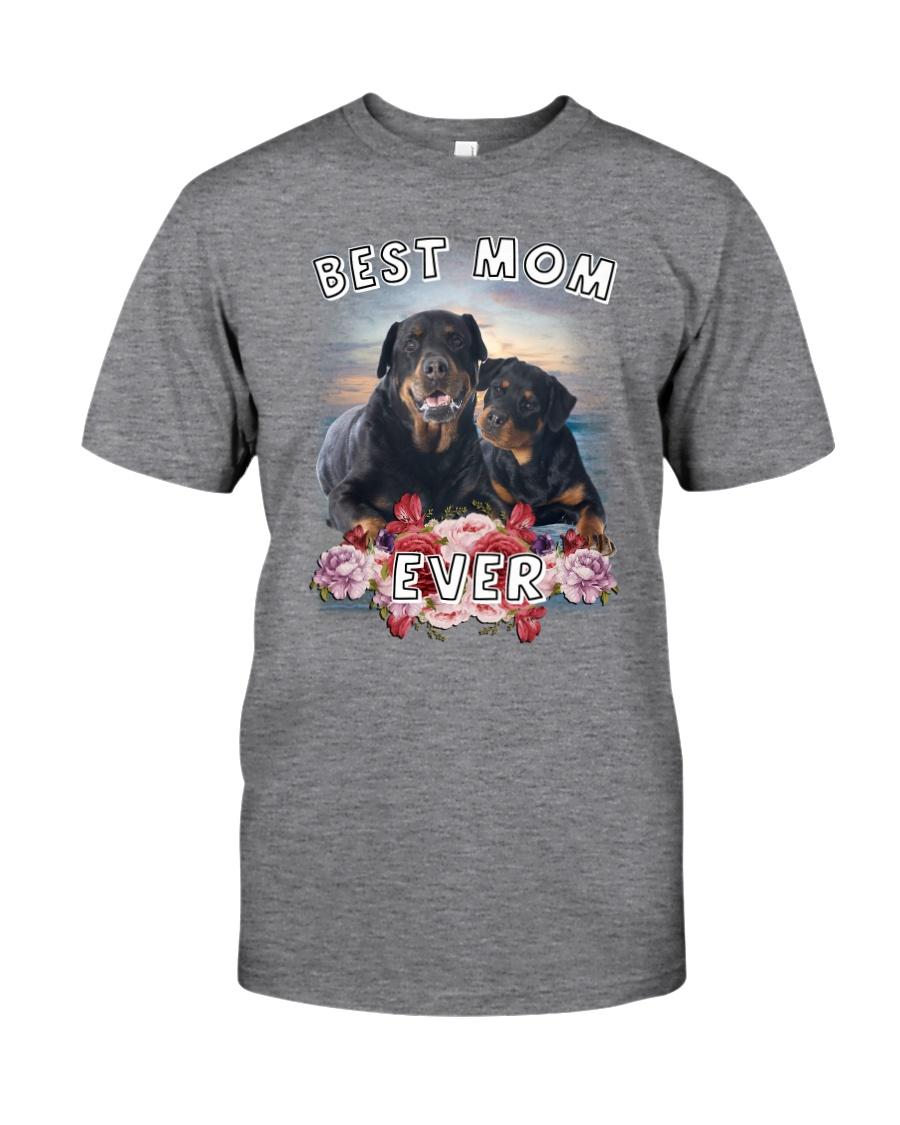 Rottweiler Best Mom Classic T-Shirt
