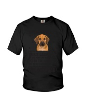 Human Dad Rhodesian Ridgeback Youth T-Shirt tile