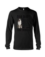 Daddy Australian Shepherd Long Sleeve Tee thumbnail