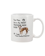 Pawsome Mom American Pit Bull Terrier  Mug front