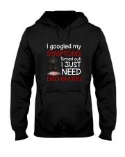 Dachshund Symptoms Hooded Sweatshirt thumbnail