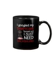 Dachshund Symptoms Mug thumbnail