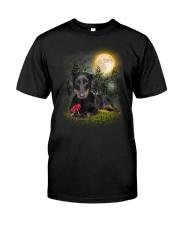 Dachshund Beauty Classic T-Shirt front