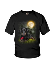 Dachshund Beauty Youth T-Shirt thumbnail