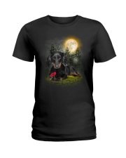 Dachshund Beauty Ladies T-Shirt thumbnail