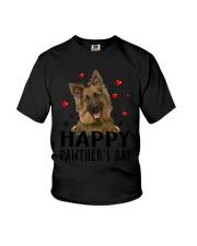 German Shepherd Happy Pawther Day Youth T-Shirt thumbnail