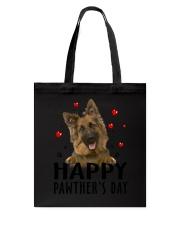 German Shepherd Happy Pawther Day Tote Bag thumbnail