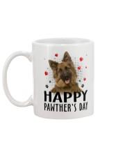 German Shepherd Happy Pawther Day Mug back