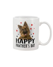 German Shepherd Happy Pawther Day Mug front