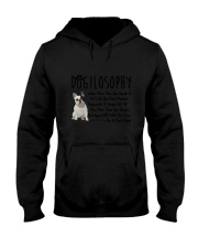 French Bulldog Dogilosophy Hooded Sweatshirt thumbnail
