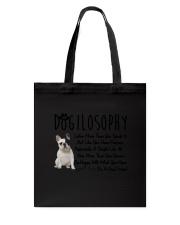 French Bulldog Dogilosophy Tote Bag thumbnail