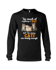 Cat Barely Enough Long Sleeve Tee tile