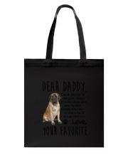 Daddy English Mastiff Tote Bag thumbnail