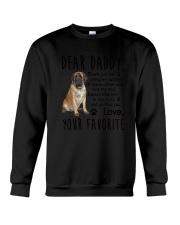 Daddy English Mastiff Crewneck Sweatshirt thumbnail